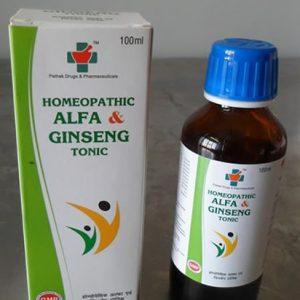 HOMEOPATHIC ALFA & Ginseng